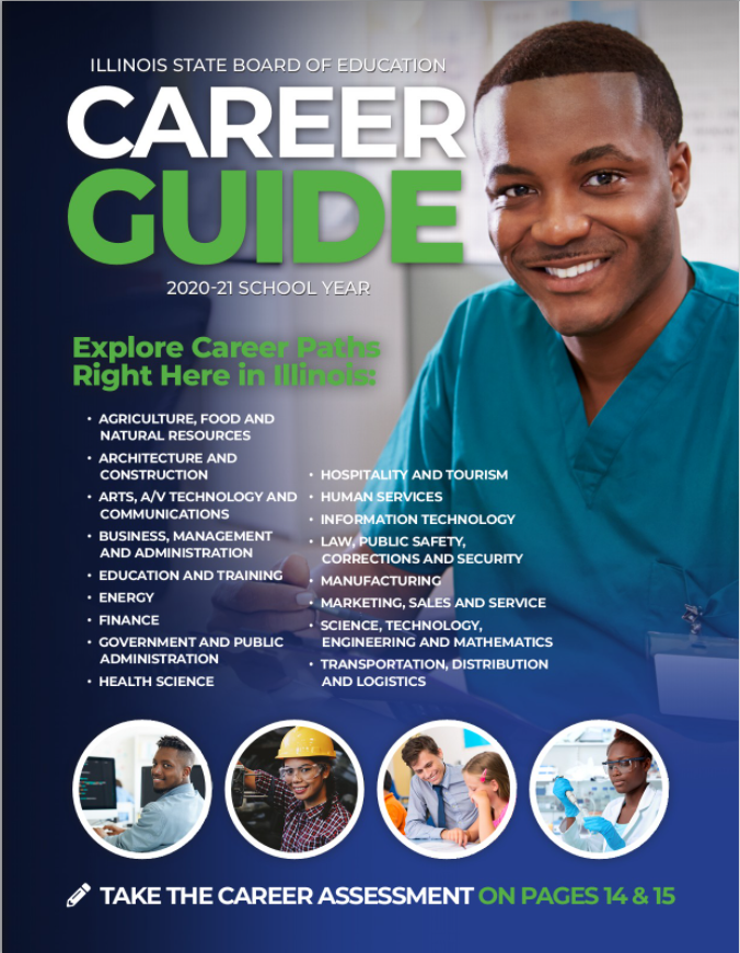 View the 2020-2021 School Year Illinois Career Guide Flipbook