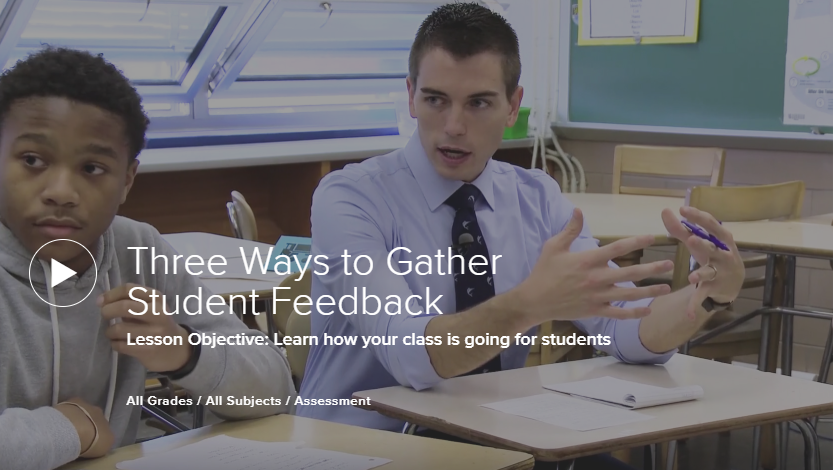 3 Ways to Gather Student Feedback