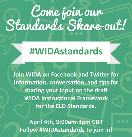 WiDA Share-out